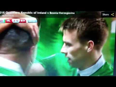 John Walters second goal v Bosnia