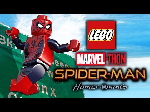 Spider-Man: Homecoming - LEGO Marvel-thon!