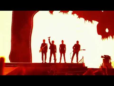U2 LIVE - Where The Streets Have No Name - Rose Bowl May 20 2017