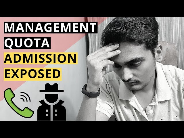 MBA Donation Admissions Exposed - Call recording with Agent | Beware of this Dark Side |