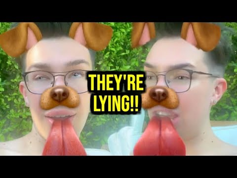 JAMES CHARLES RESPONDS TO CONSPIRACIES + BELLA THORNE NUDES LEAKED?! thumbnail
