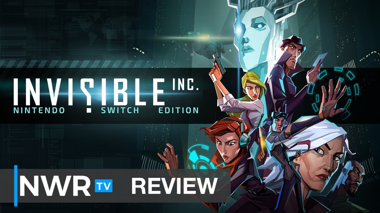 Invisible Inc Blends XCOM and Into the Breach for Stealth Excellence (Switch Review) (Video Game Video Review)