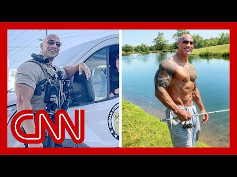 Meet sheriff's deputy who looks just like 'The Rock'