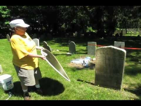 How to clean a gravestone   YouTube How to clean a gravestone