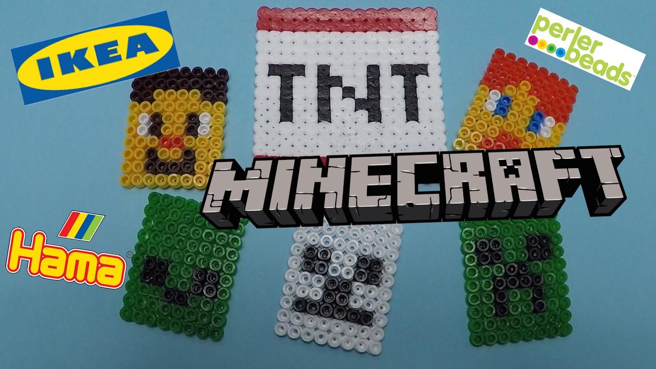 Hama Beads Minecraft Designs You Can Make Hama Beads Perler Beads Hama Beads Ikea