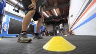 Agility Drills At Nonamefit Studios East Downtown Houston