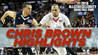 Download Chris Brown's Top Plays From All-Star Basketball Game MP3 song and Music Video