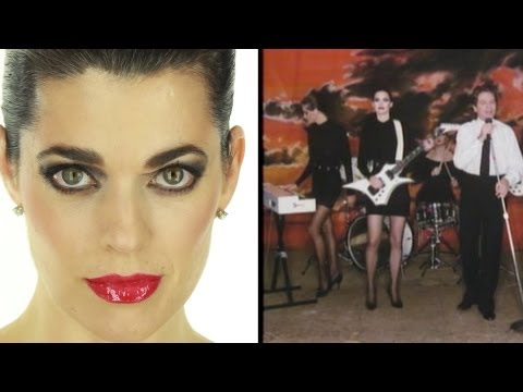 "Robert Palmer Girls ""Addicted To Love""  Makeup Tutorial"