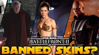 *BANNED* HERO SKINS? in Star Wars Battlefront 2