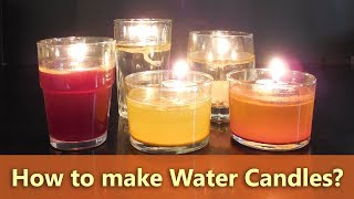 How to Make Water Candles | DIY Water Candles | Diwali Light Decoration