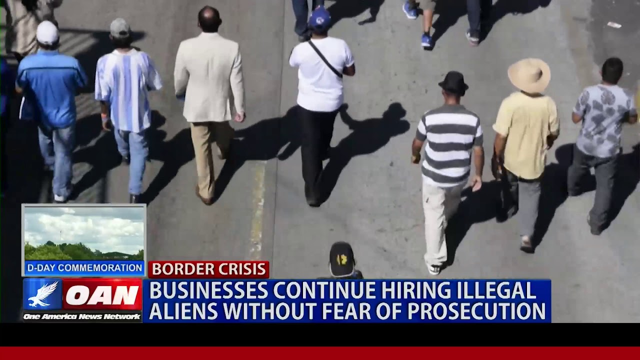 BUSINESSES CONTINUE TO HIRE ILLEGAL ALIENS