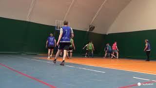 Смотреть видео PlayBasket. Видеообзор 29.01.2019 (Метро Электрозаводская). Любительский баскетбол в Москве онлайн