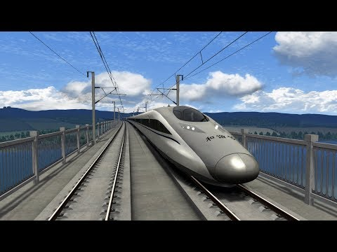 Train Simulator 2018 | CRH380A | The South West China High Speed Route | Chongqing to Chengdu HD