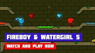 fireboy & Watergirl 5: Elements // Walkthrough 100