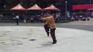 詹明樹老師表演56式陳式太極拳