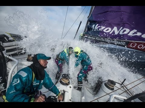 Volvo Ocean Race - Leg 2 Week 3 - Drag race to Cape Town