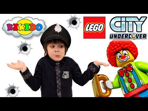 👮 LEGO CITY UNDERCOVER #2 ДЖОКЕР ГРАБИТ БАНК Кикидо плей прохождение игры ЛЕГО СИТИ