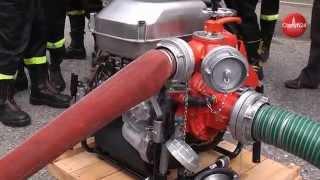 OLSZTYN24: Przekazanie strażakom-ochotnikom nowych motopomp