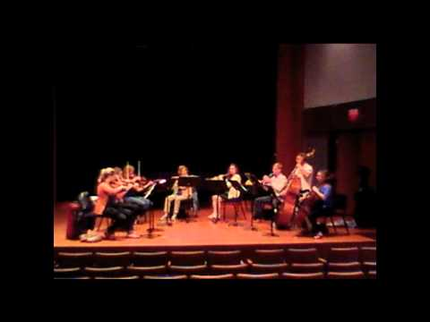 Palm Beach Chamber Music Festival 2012 - Rehearsal, d'Indy's Suite dans le style ancien, II. Entree