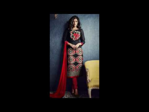 Designer Indian Party Wear Churidar Suits