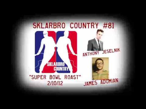 Anthony Jeselnik Interview - James Adomian - Sklarbro Country Podcast #81