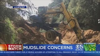 STORM WATCH: Santa Cruz Mountains Residents Preparing For The Worst