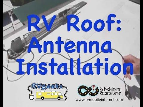 RV Roof Antenna Installation Tips (Cellular & WiFi)