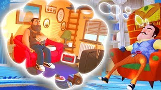 WHAT DO HELLO NEIGHBOR'S DREAMS LOOK LIKE?! | Escape Your Dreams! | Suicide-Guy Gameplay