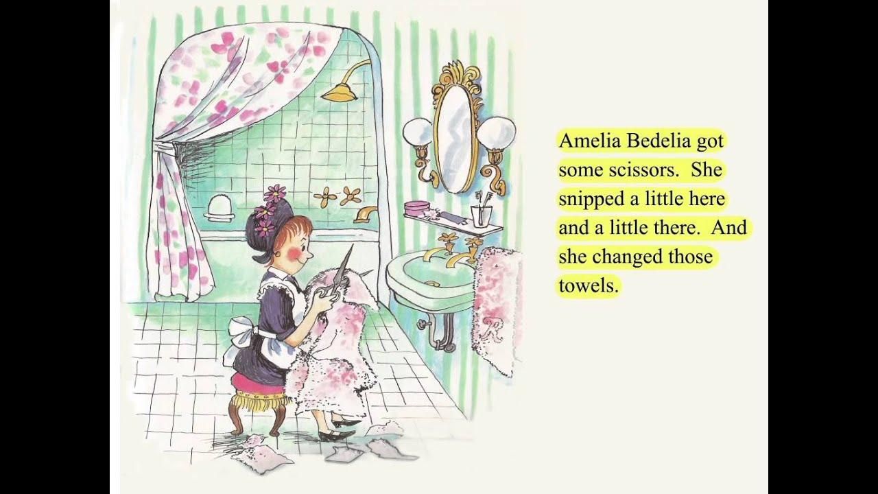 animated amelia bedelia book youtube