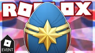 [EVENT] HOW TO GET THE CAPTAIN MARVEL EGG IN EGG HUNT 2019 SCRAMBLED IN TIME | Roblox