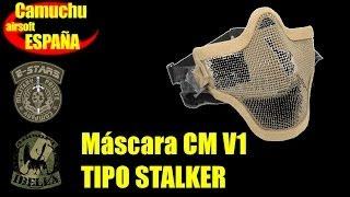 Máscara airsoft V1 tipo Stalker - 24-04-2014 - Camuchu airsoft