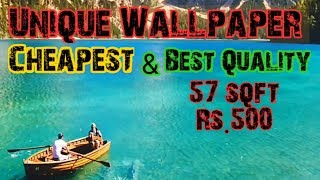 WallPaper || 3d Wall Paper For Home || Buy Cheapest Wallpaper At Wholesale/Retail ||