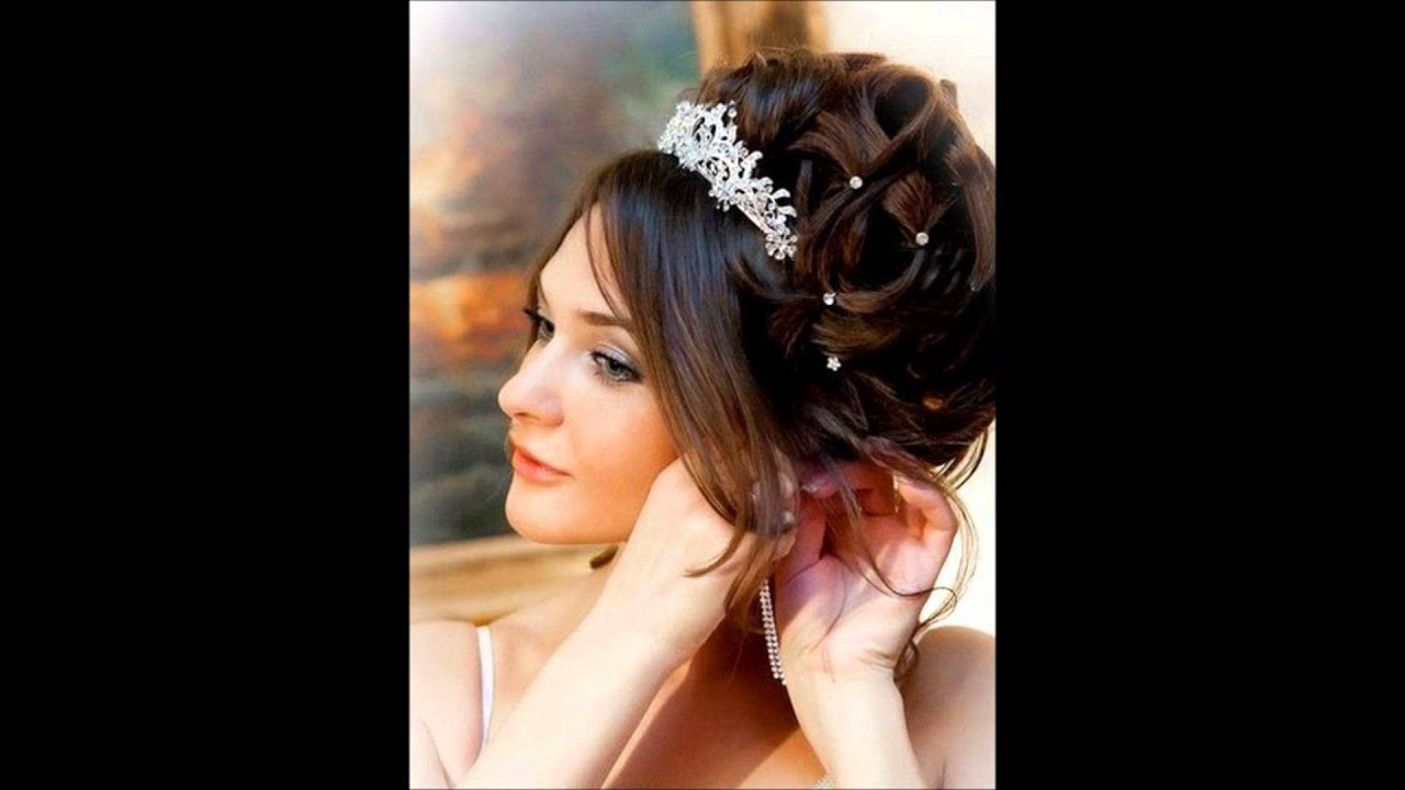 coiffure de mariage youtube. Black Bedroom Furniture Sets. Home Design Ideas