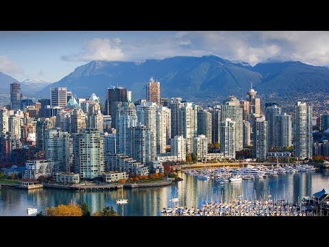 VANCOUVER CANADA TIMELAPSE TRAVEL VIDEO! Canada in 4k!