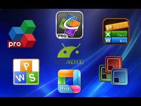 Applicazioni Office per Android: la video prova di TuttoAndroid.net