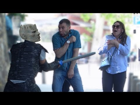 Game Of Thrones Night King Scare Prank! - BEST REACTIONS