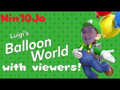Luigi's Balloon World (send your codes)