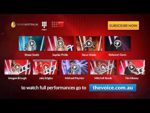 Episode 6 Blind Auditions: The Voice Australia Season 2