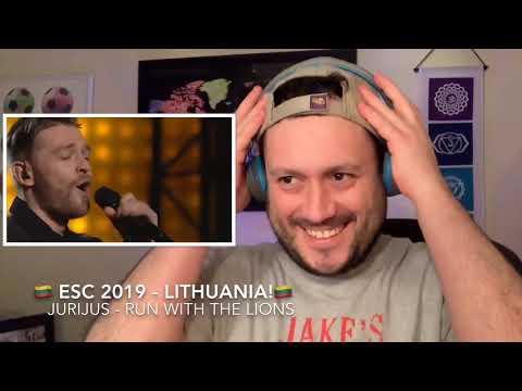 🇱🇹ESC 2019 Reaction to LITHUANIA!🇱🇹