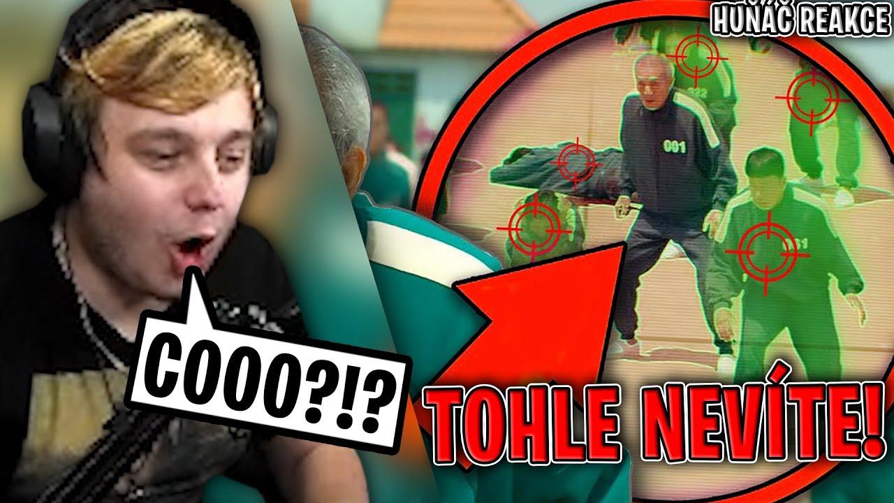 TOHLE NEVÍTE O SQUID GAME!!! | Morry REAGUJE na Huňáče