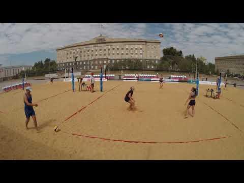 Пляжный волейбол - Чемпионат Орловской области - Игра 2 Жен