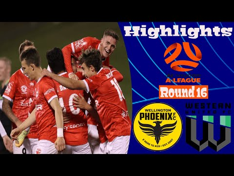 Wellington Phoenix Western United Goals And Highlights