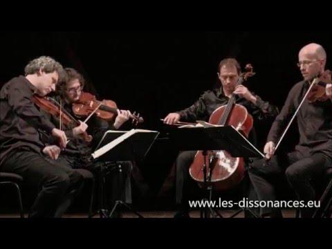 Mozart quatuor Dissonance - Quatuor Les Dissonances