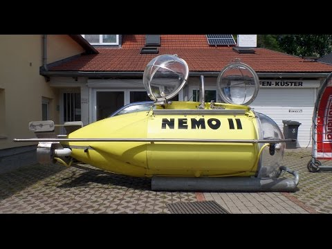 "Homemade Submarine ""Nemo II"""