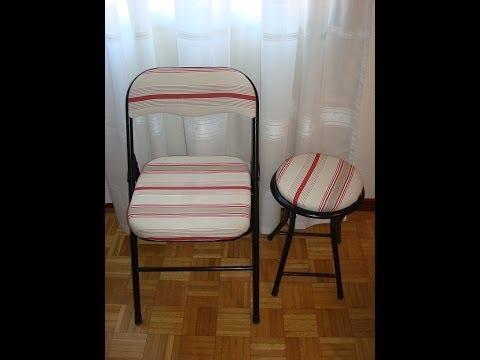 Decoracion mueble sofa como se tapizan las sillas - Como restaurar sillas de madera ...
