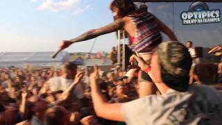 WOLF DOWN - STRAY FROM THE PATH (LIVE @ FLUFF FEST 2013)