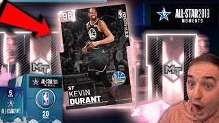 NBA 2K19 My Team PINK DIAMOND MVP DURANT! WE PULLED A PINK DIAMOND OMG IS IT HIM?!?!