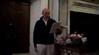LUCIS CREATOR OPTIME, Inno gregoriano al Vespro, Studio di Giovanni Vianini, Milano, Italia