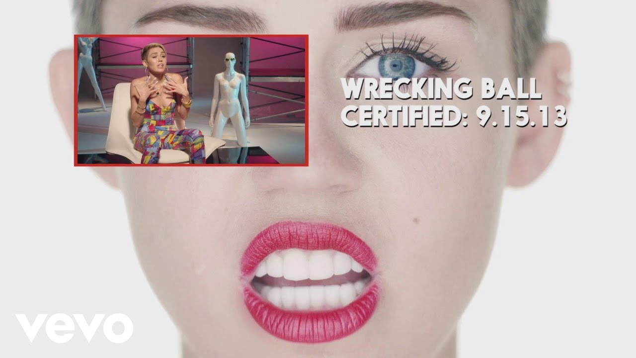 Download #VEVOCertified, Pt 4: Wrecking Ball (Miley Commentary)