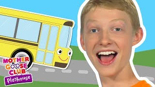 The Wheels on the Bus + More | Mother Goose Club Dress Up Theater